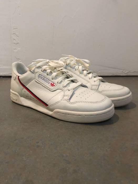 reputable site 5eba4 1a29d Adidas Continental 80 Cream Size US 11  EU 44