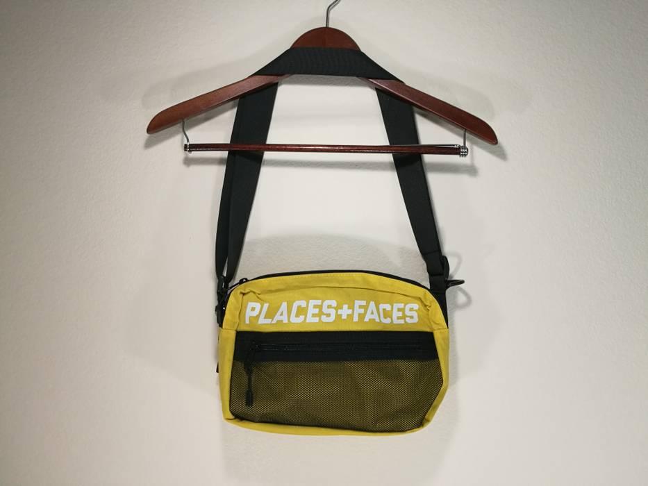 Places + Faces Yellow Places+Faces Pouch Bag   Shoulder Bag Size ONE SIZE 54953189917e2