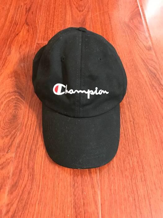 dca6e3ff9ec79 Champion Champion Classic Hat Black Size one size - Hats for Sale ...