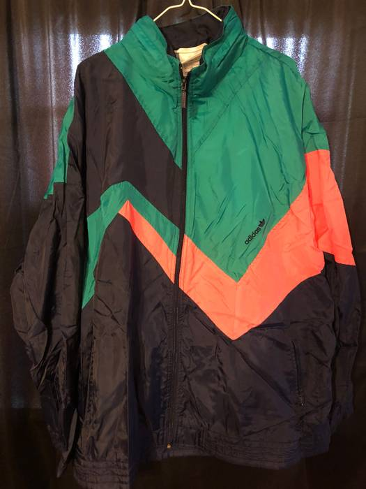 Adidas 80s Vintage Adidas Size Xl Light Jackets For Sale Grailed