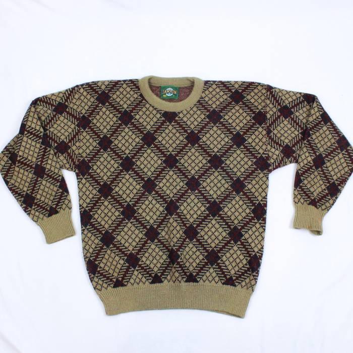Vintage 90s Jantzen Large Knit Sweater Made In Usa Crewneck Vintage