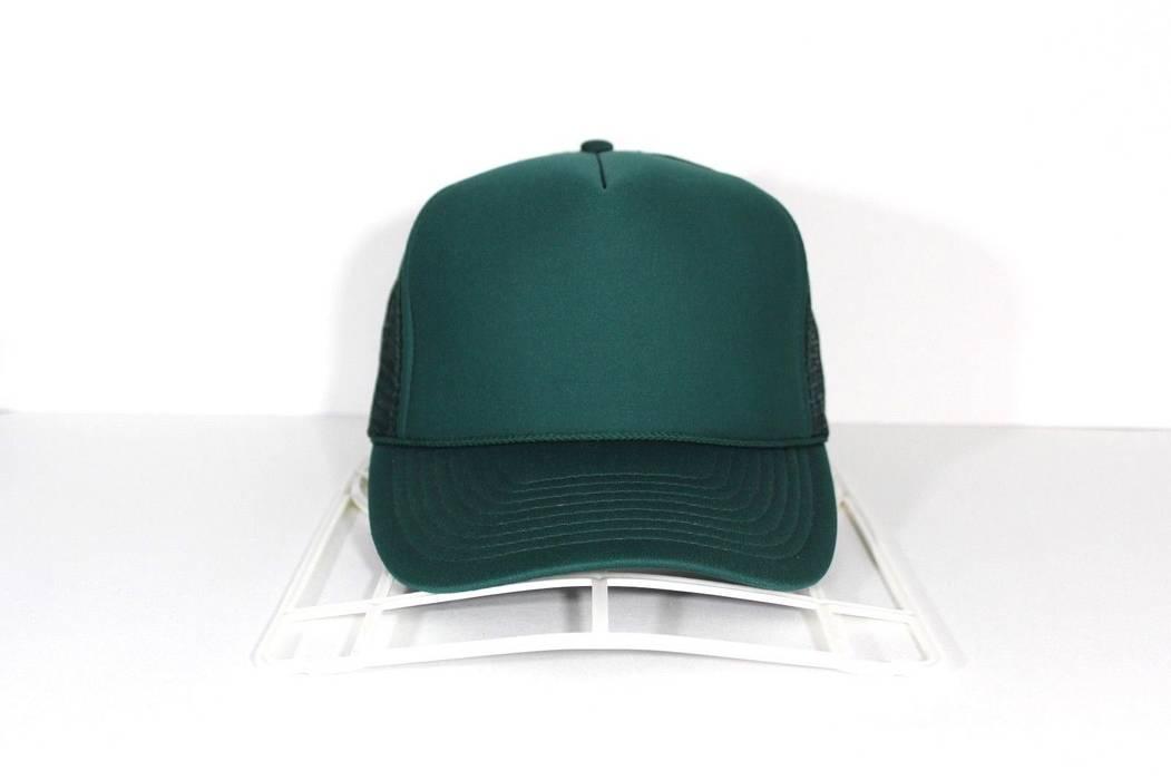 Vintage Vintage 90s NISSIN CAP Deadstock Blank Custom Mesh Trucker Hat Cap  Green Size ONE SIZE f5011fa97eb
