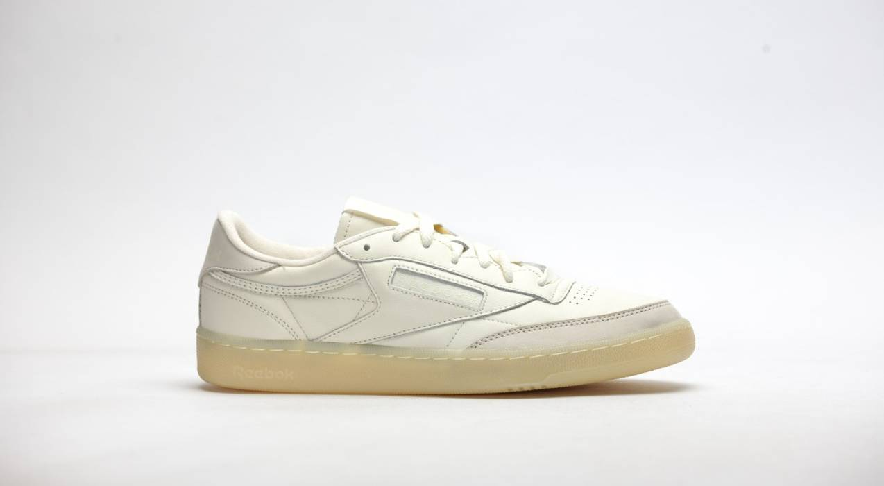 34c7faf13385 Reebok CLUB C 85 BS CREME WASHED YELLOW Size 9 - Low-Top Sneakers ...