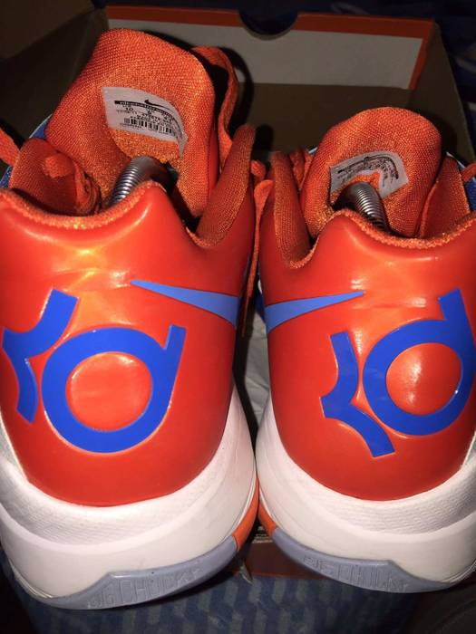 a27db379f1d Nike KD 4 Creamsicle Size 10 - Low-Top Sneakers for Sale - Grailed