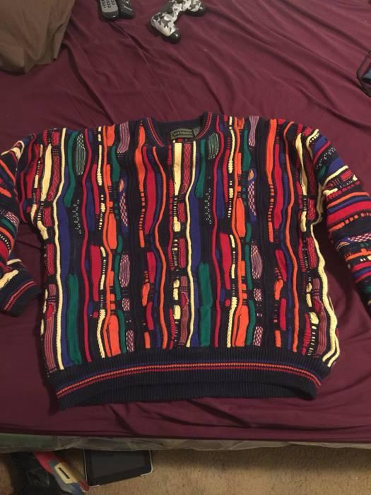 Croft Barrow Vintage Bill Cosby Sweatercoogie Sweater Size Xl