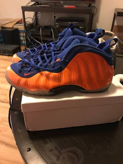 a8c01c58b57 Nike Nike NY Knick Foamposite Size 11.5 - Low-Top Sneakers for Sale ...