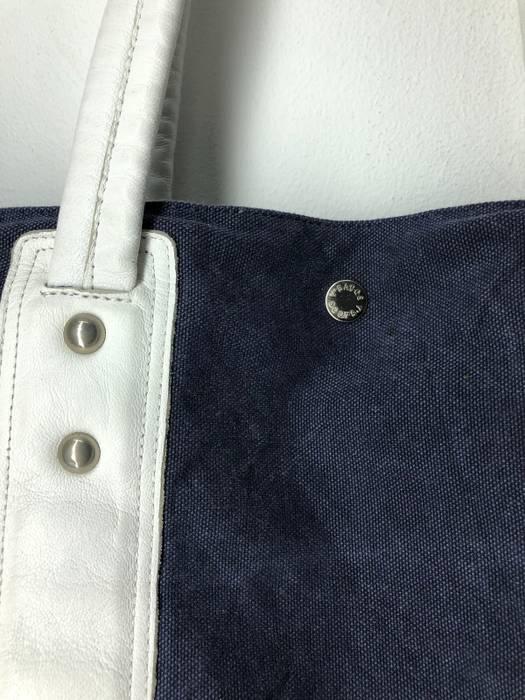 9ccb20be05b Yohji Yamamoto Yohji Yamamoto Japan Y saccs Denim Tote Bag Shopper Bag Size  ONE