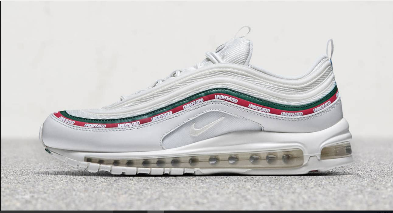 reputable site dfa44 7c60b Nike UNDEFEATED X NIKE AIR MAX 97 OG - SAIL SPEED RED WHITE