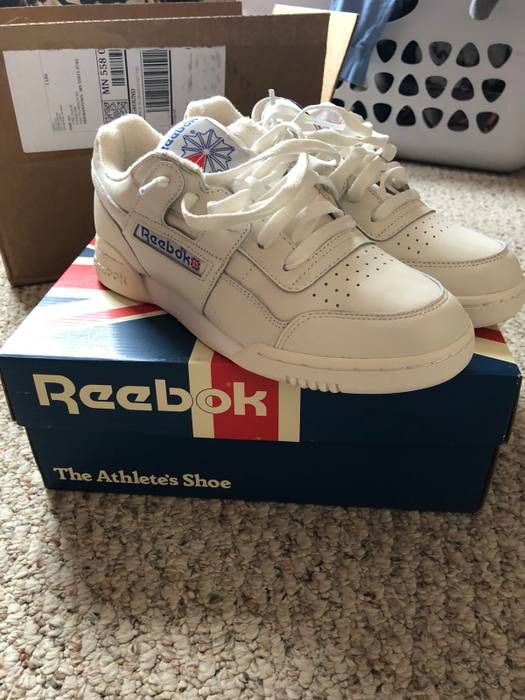 8ca1e9f53a78 Home Shop Footwear Low-top Sneakers. Slide 1 of 4. Reebok Reebok Workout  Plus Classic - Vintage Size US 8   EU 41