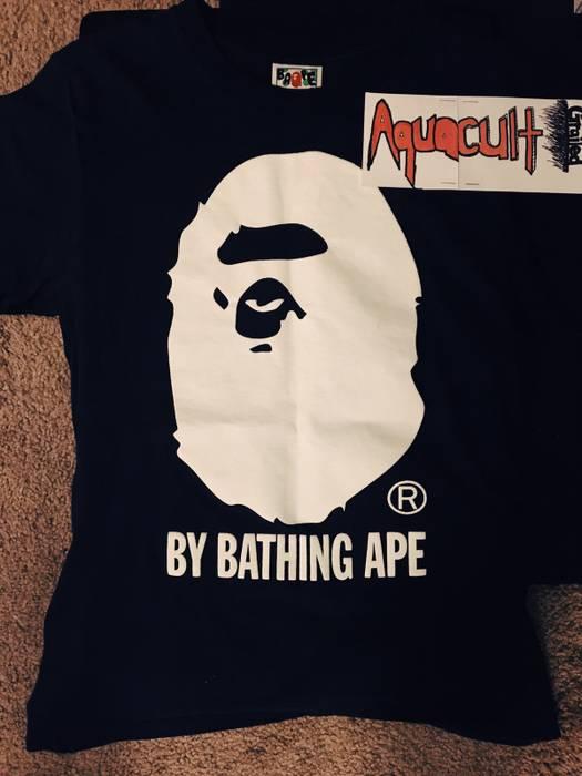 Bape Indigo By Bathing Ape Tee   Men s Size s - Short Sleeve T ... decb41688423