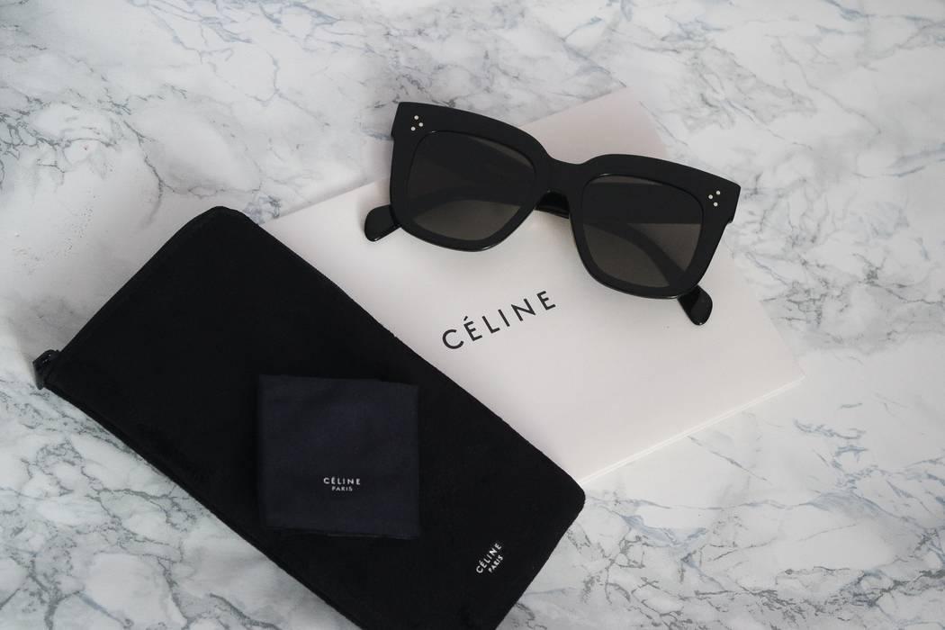 fffe1171699 Celine NEW Celine Kim Oversized Black Square Sunglasses Size ONE SIZE