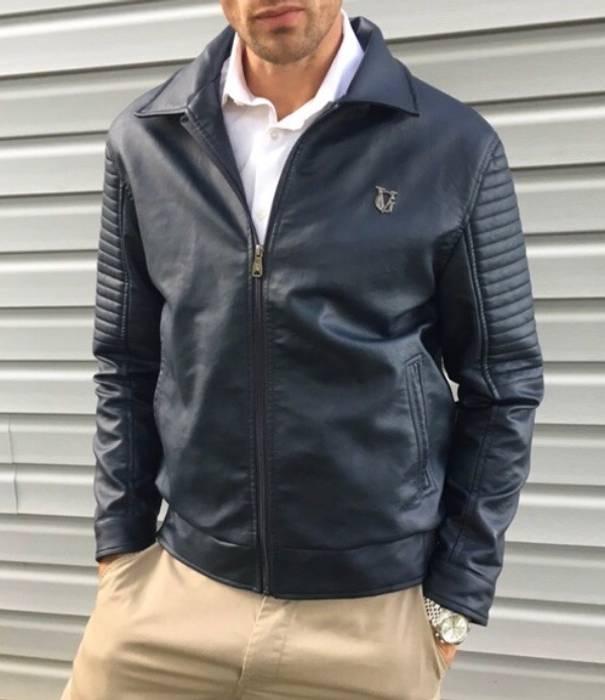 6a183c259da Other VG World Collection Designer Leather Jacket Size US L   EU 52-54