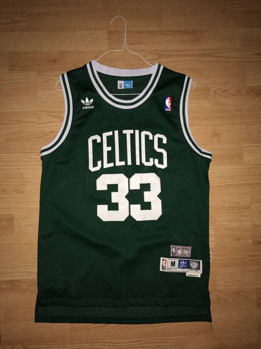 96a34f14f16 ... wholesale adidas boston celtics larry bird 85 86 hardwood classic  jersey size us m 1d780 baf4e