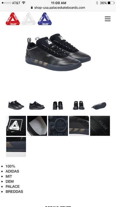 d6777b4254f3c Adidas Palace x adidas Originals Pro 2 Size 10 - Low-Top Sneakers ...