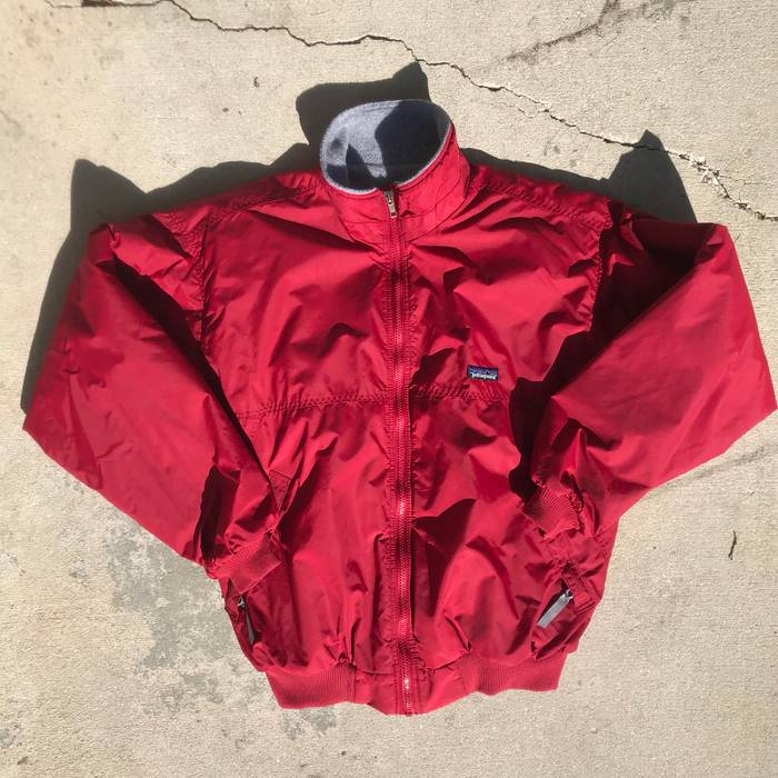 Patagonia. Patagonia Nylon Fleece Lined Bomber Jacket Red Medium Made In USA  Vintage 90s. Size  ... 88db15b62c69