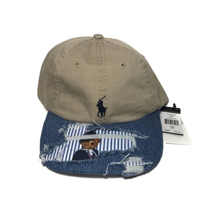 Polo Ralph Lauren Custom Ralph Lauren Polo Bear Denim Hat Size ONE SIZE 9f6a0c61f2a