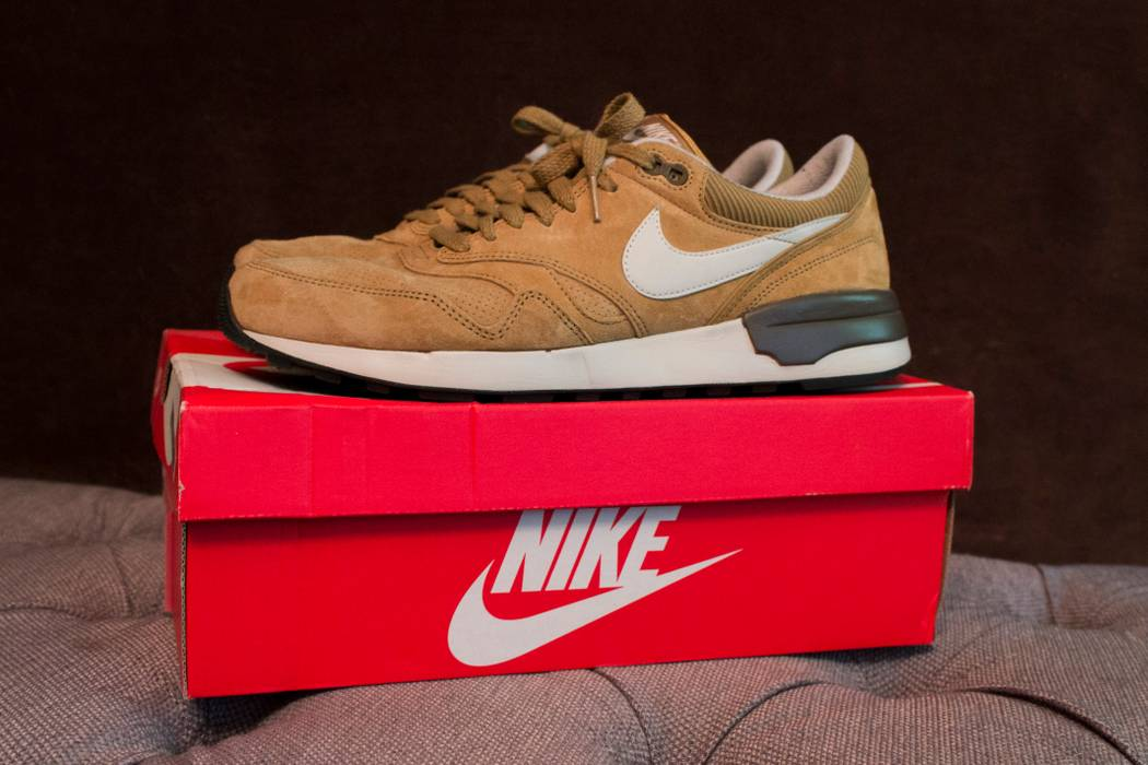 4de45f646c03dd Nike Air Odyssey LTR Golden Tan Light Brown Size 11 - for Sale - Grailed