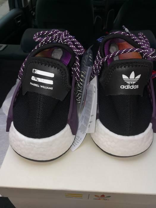 13d12dc19cb8d Pharrell Adidas Human Race NMD Pharrell Williams Holi Festival Black purple  size 10