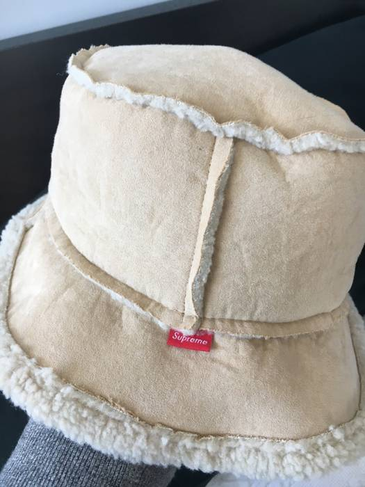 Supreme Supreme fur sherpa bucket hat Size one size - Hats for Sale ... 77254196b8a