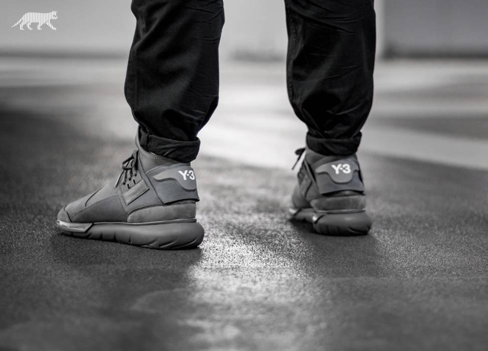 Y-3 Y-3 qasa high vista grey Size 8 - Hi-Top Sneakers for Sale - Grailed 5f0189f901