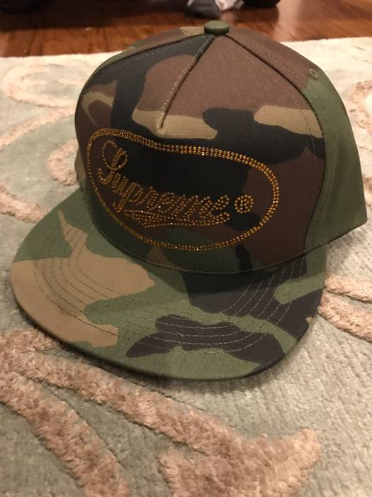 Supreme SUPREME CAMO AND GOLD HAT Size one size - Hats for Sale ... 305ec683c7a
