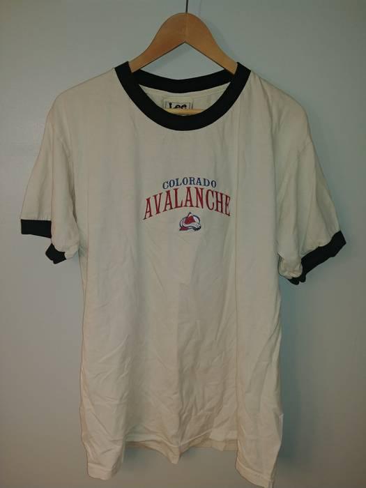 Nhl. Vintage 90 s NHL Colorado Avalanche Lee Sport T-Shirt. Size  US L ... dc04045b5