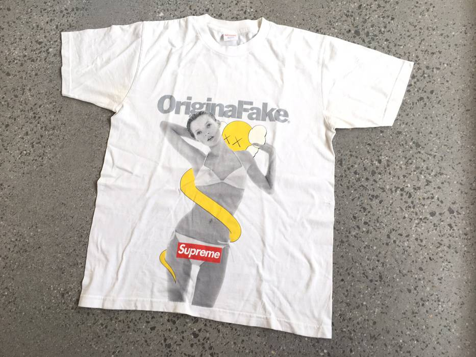 107a054903e6 Supreme Supreme X Original Fake Kate Moss T-shirt Size l - Short ...