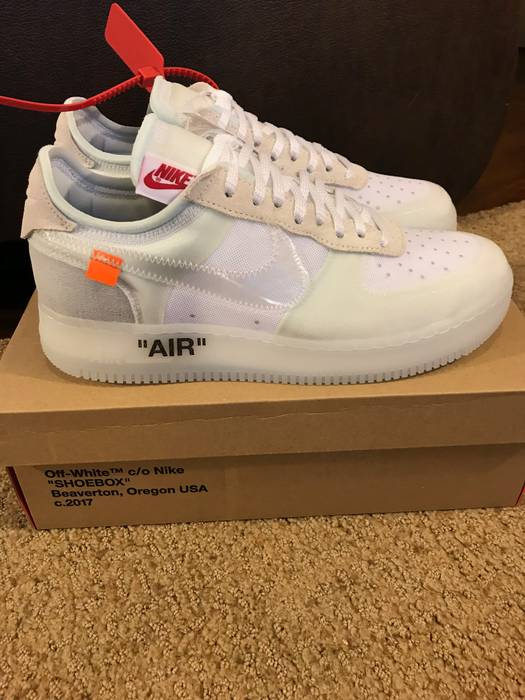 Nike Nike Air Force 1 Low Off White Size 10 - Low-Top Sneakers for ... 304d691a2