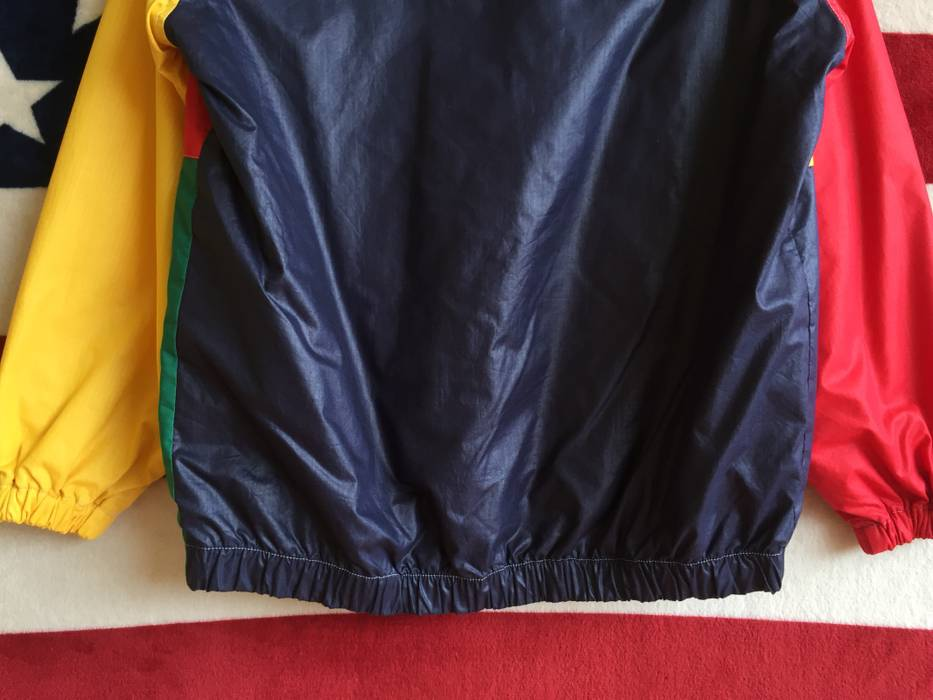 Vintage Vintage 80s Colour Block Jacket Zip Up Colourful Jacket