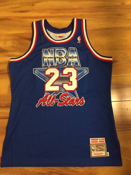 Mitchell   Ness Jordan All Star Jersey 1993 Size l - Tank Tops ... c96f7bf21