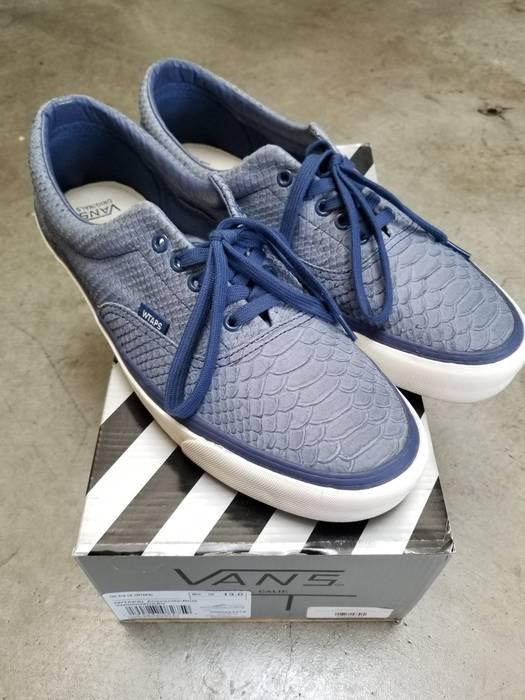 0af7dcf676 Vans Vans Vault x Wtaps Blue Anaconda Authentics Size 13 - Low-Top ...