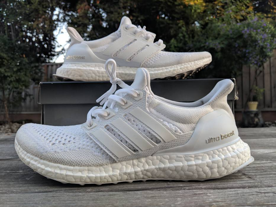 86e1af52acf ... hot adidas adidas ultra boost 1.0 jd collective triple white size us  7.5 eu 40 fa6f4