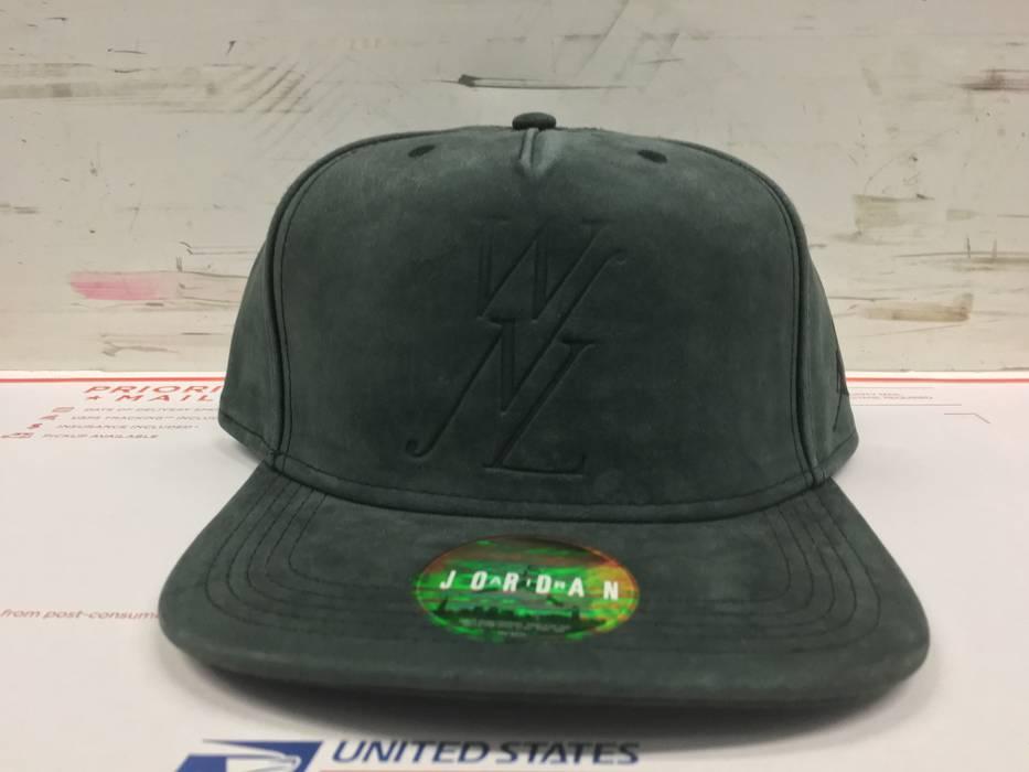 18a7d42736b Jordan Brand AIR JORDAN X PUBLIC SCHOOL WNL WINNER NEVER LOSE GREY SUEDE  SNAPBACK HAT CAP