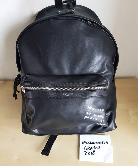 0a936db5148 Saint Laurent Paris full leather City backpack Bag YSL Size one size ...