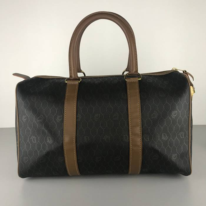 Dior Authentic Vintage Christian Dior Trotter Boston Bag Size ONE SIZE - 5 920b2d8a33b0d