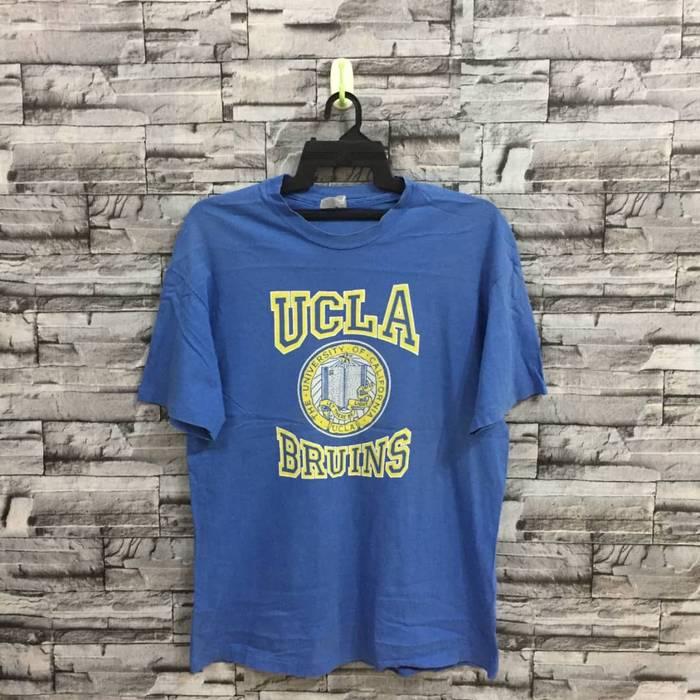 Hanes. Vintage Hanes Beefy T-Shirt The University Of California Design Big  Logo Spellout UCLA Bruins. 2e4a6eece