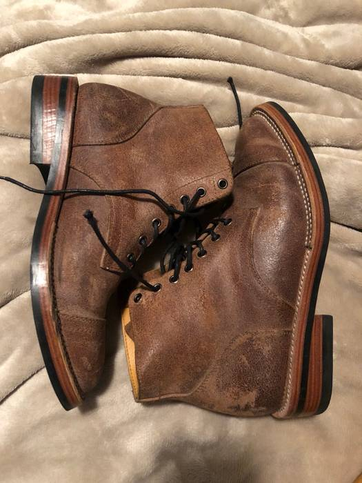 Junkard Company Waxed Flesh Roughout Boot Size 9 - Boots for Sale ... d3f5e2b897