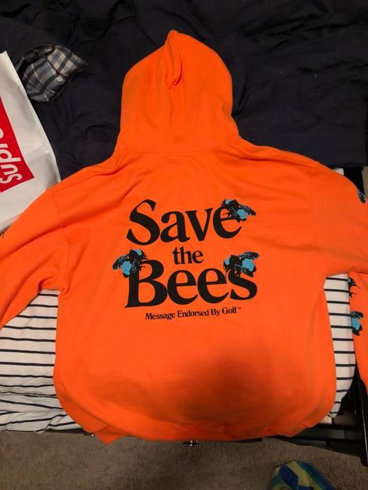 fb402bab2dea Golf Wang Fluorescent Orange Save The Bees Size l - Sweatshirts ...