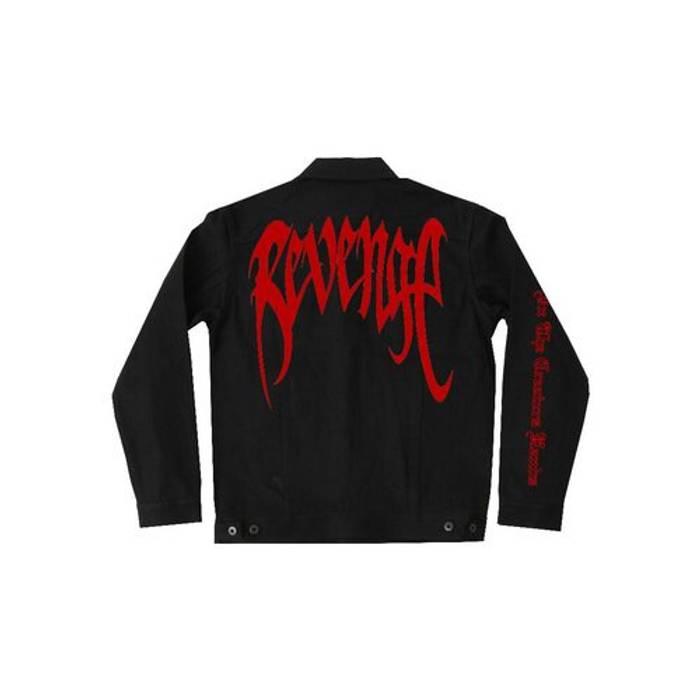 Levi S Red And Black Revenge Levi S Denim Jacket Xxxtentacion Size M