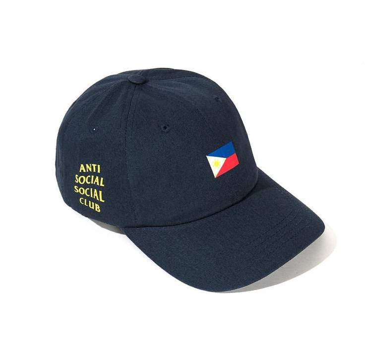 Antisocial Social Club assc Filipino flag hat Size one size - Hats ... 01f65b15210