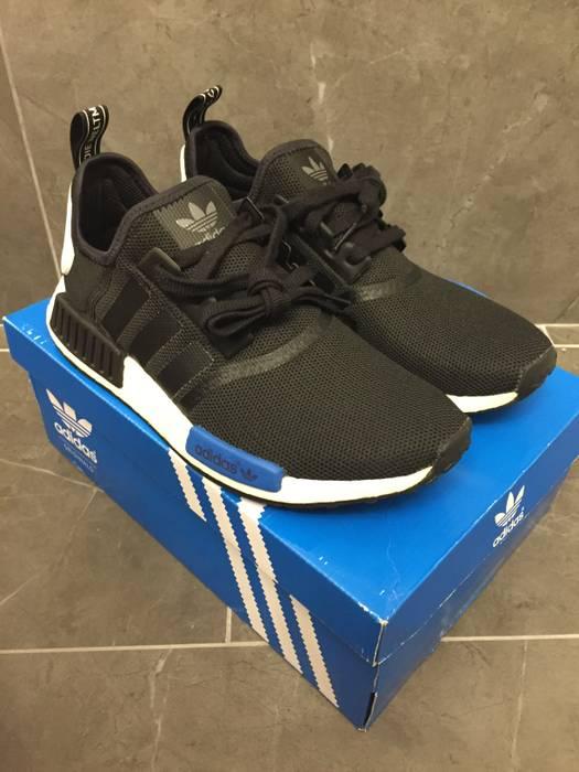 timeless design 22e06 f581a Adidas. Adidas NMD Runner R1 S79162 Tokyo Core Black Blue Size 9.5 ...