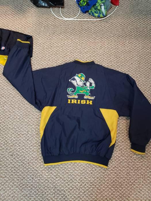 Vintage Vintage Notre Dame Pullover Size M Light Jackets For Sale
