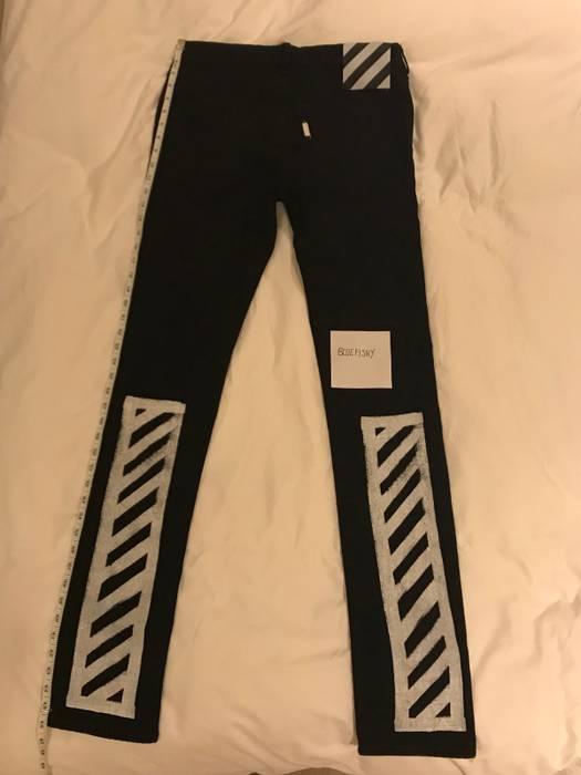 5391de4da351 Off-White. Off-White Diagonal Stripe Black Jeans (please read description).  Size  US 33