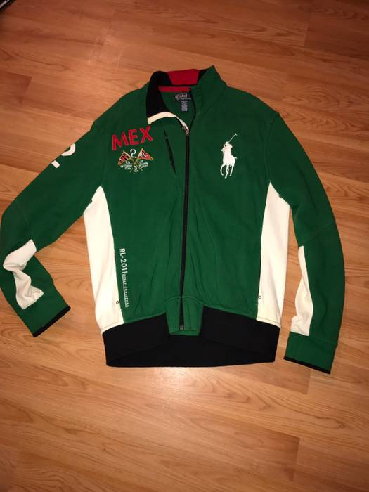 Polo Ralph Lauren Polo Mexico Jacket Size l - Light Jackets for Sale ... 873010fa469e