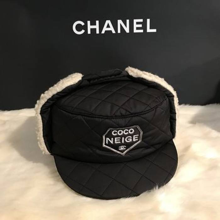 Chanel FW17 COCO NEIGE CAMEL FUR HAT Size one size - Hats for Sale ... 42eef6482ce