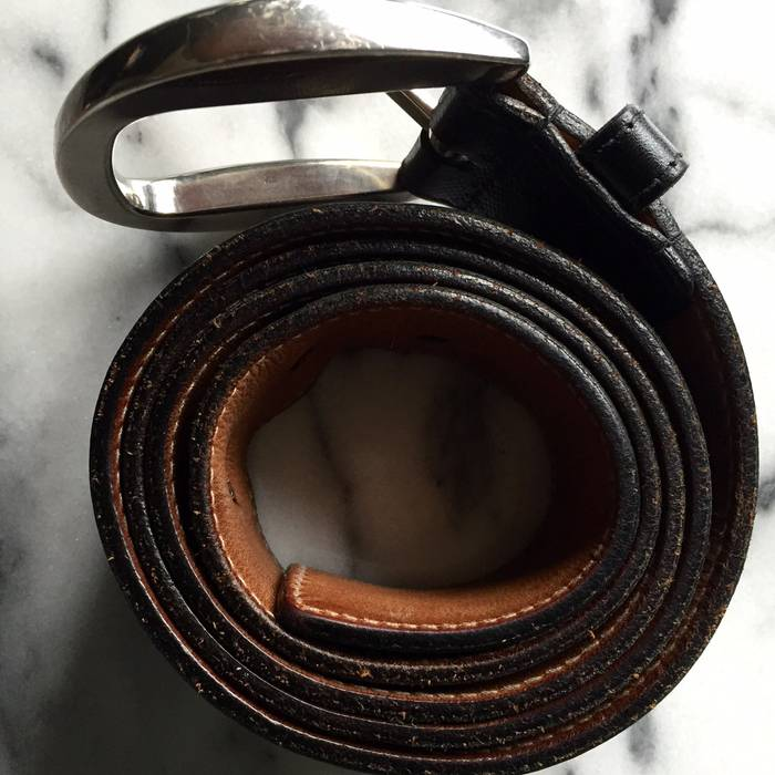 3f9b5d3d1c0 Gucci Gucci Black Diamante Leather Belt Size 34 - Belts for Sale ...