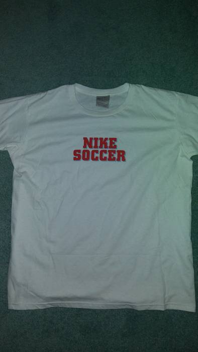 Nike Vintage Nike Soccer Tee Size l - Short Sleeve T-Shirts for Sale ... f1ed91374