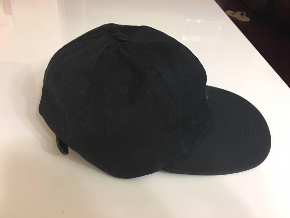 14401d3b957 Supreme Supreme Black And Green Script Logo 6 Panel Camp Cap Hat Size ONE  SIZE -