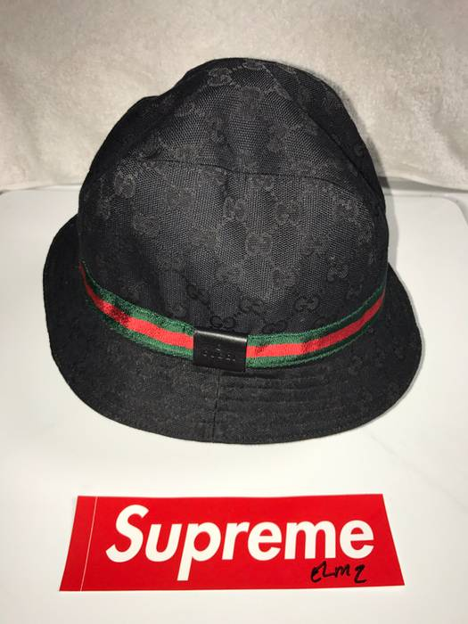 Gucci Black Gucci Bucket Hat Size one size - Hats for Sale - Grailed 5b58ad5eb2c