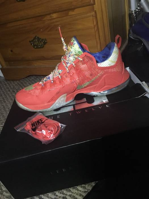 """ea513d7f6d6f Nike Lebron 12 Low """"Trainwreck"""" Size 13 - Low-Top Sneakers for Sale ..."""